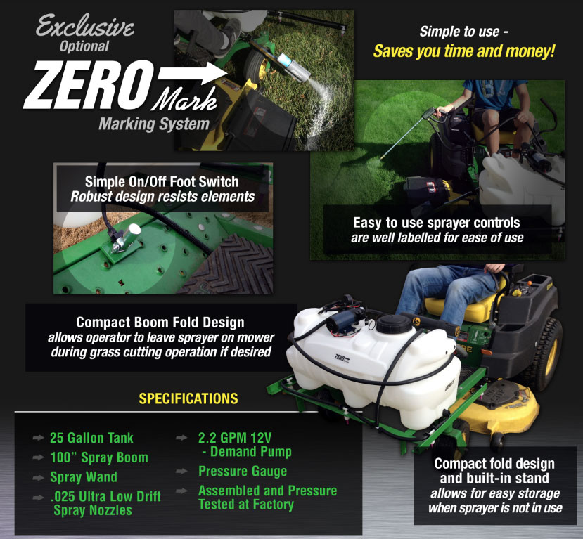 Tide Industries Zero Turn Sprayer